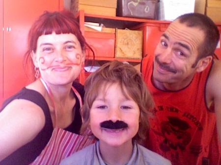 Artist as Family: Meg Ulman, Zephyr Ogden Jones, Patrick Jones