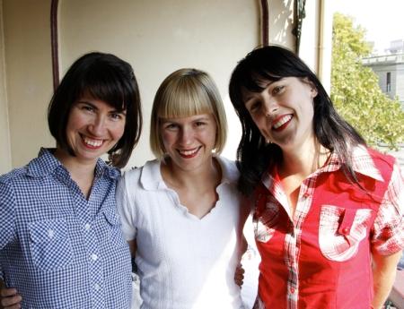 Clare Rae, Victoria Bennett, Lyndal Walker